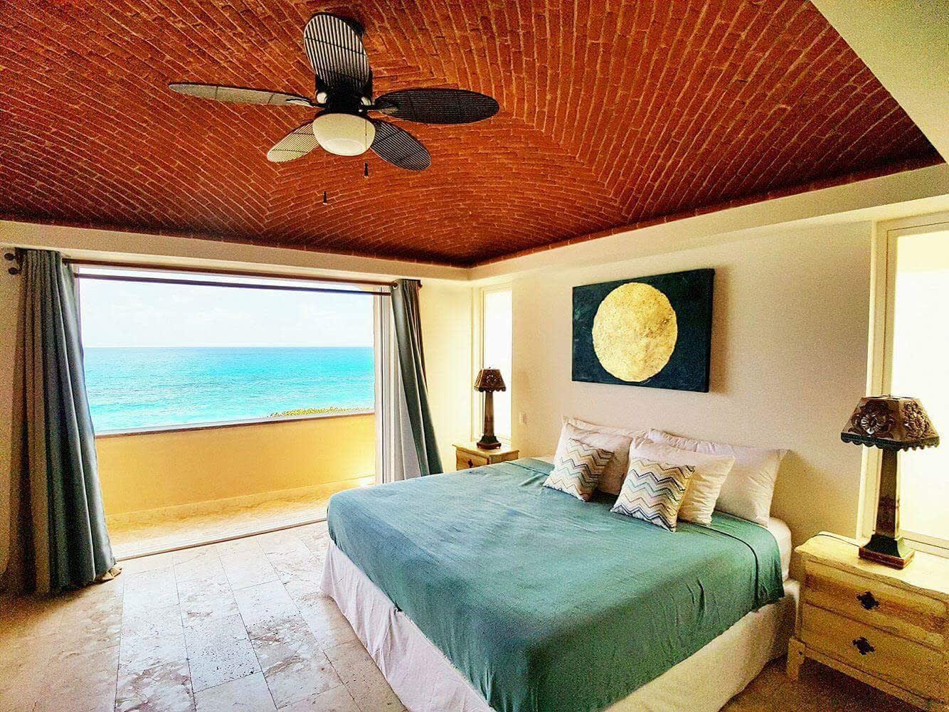 Ocean View Villa Ground floor 2bd Jacuzzi Isla Mujeres