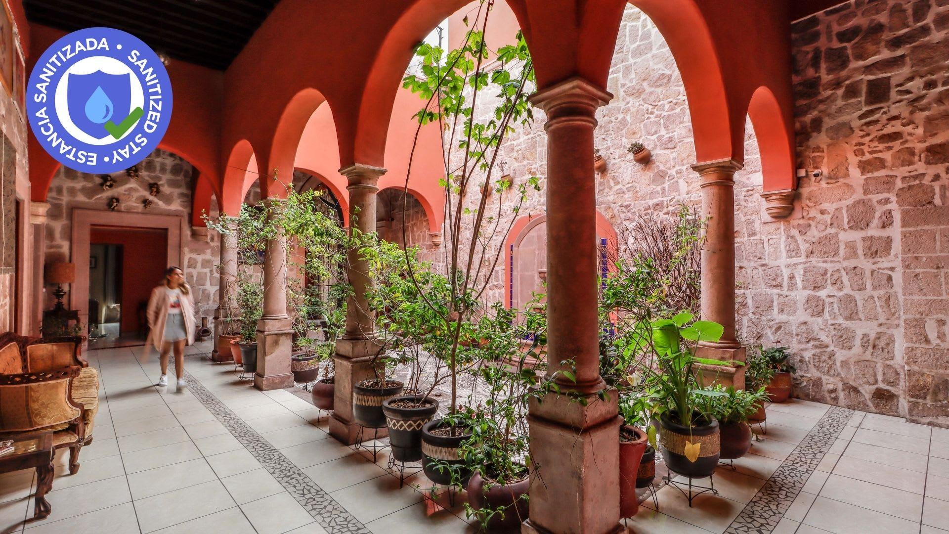 Hotel La Siesta del Fauno en Morelia