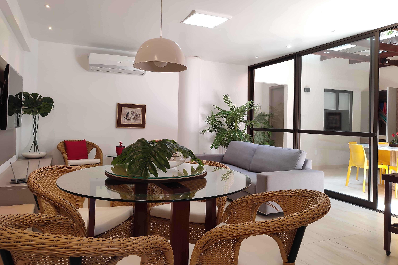 Apartamento de 4 quartos de frente para a praia Ferienwohnung in Brasilien
