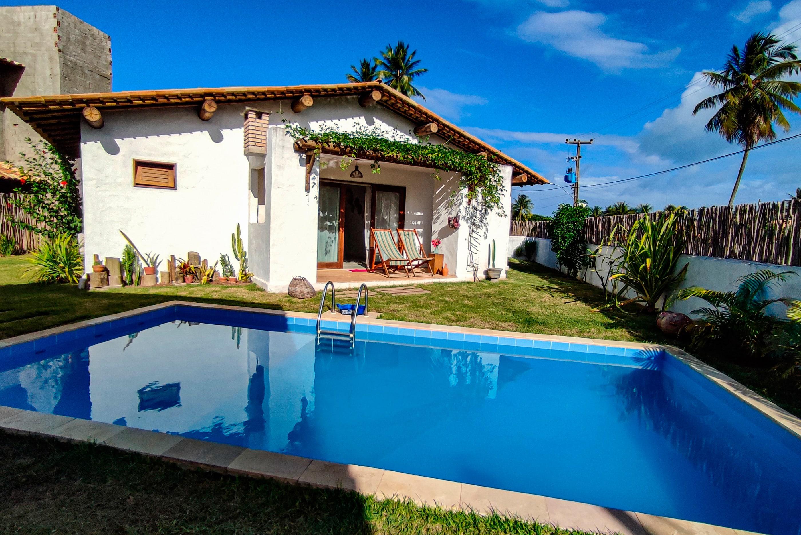 Casa deliciosa no Pontal da Enseada, Rota dos Mila Ferienhaus in Brasilien