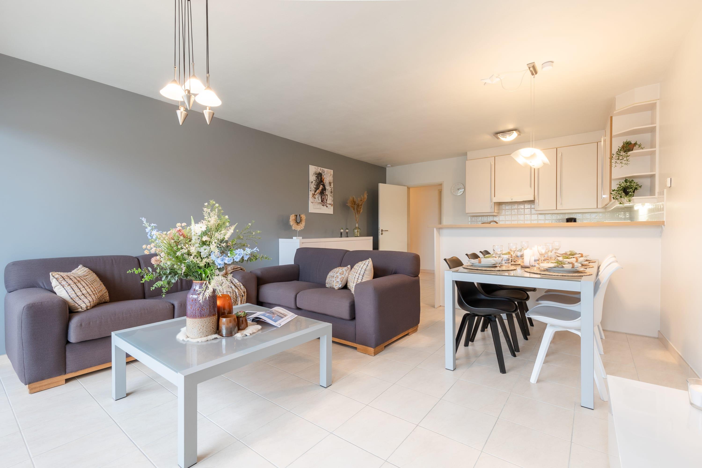 Spacious holiday apartment with sunny terrace near the beach