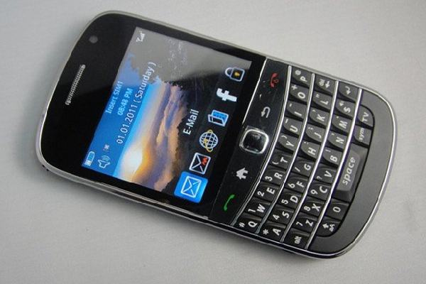 rubrica blackberry curve