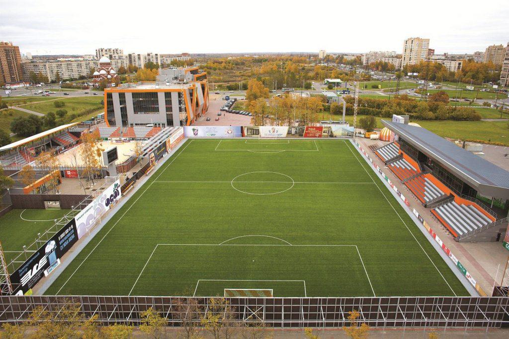 Стадион Nova Arena — фотография 3