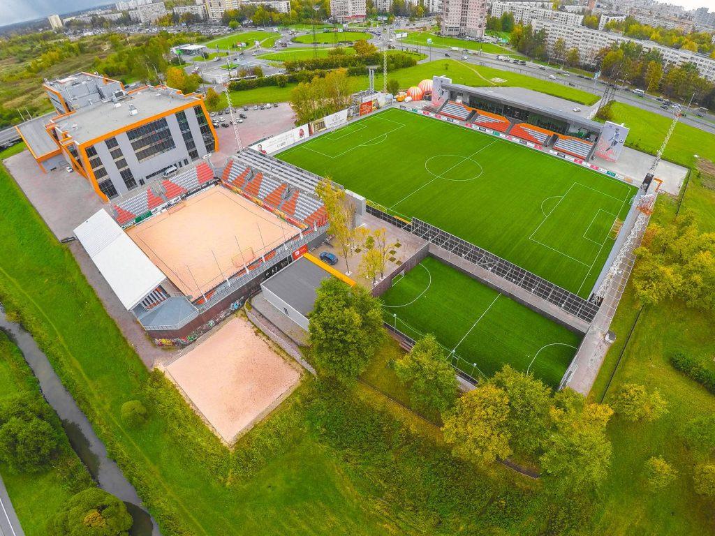 Стадион Nova Arena — фотография 2