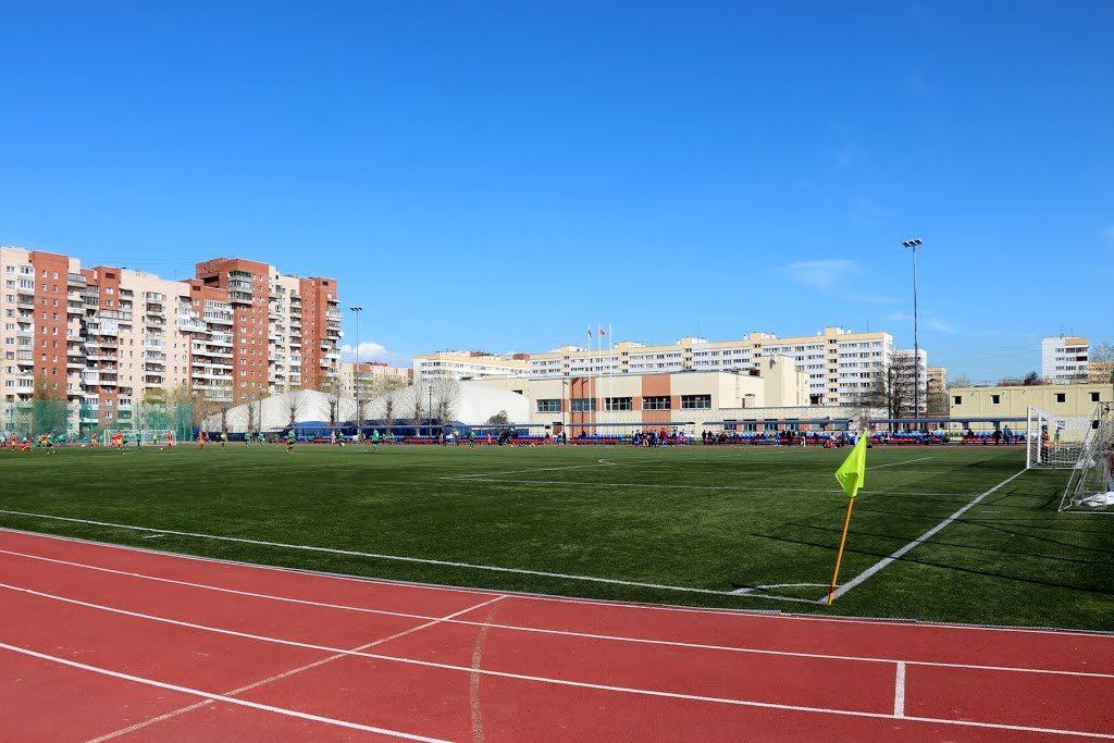 Стадион СШОР Кировского района - главная фотография