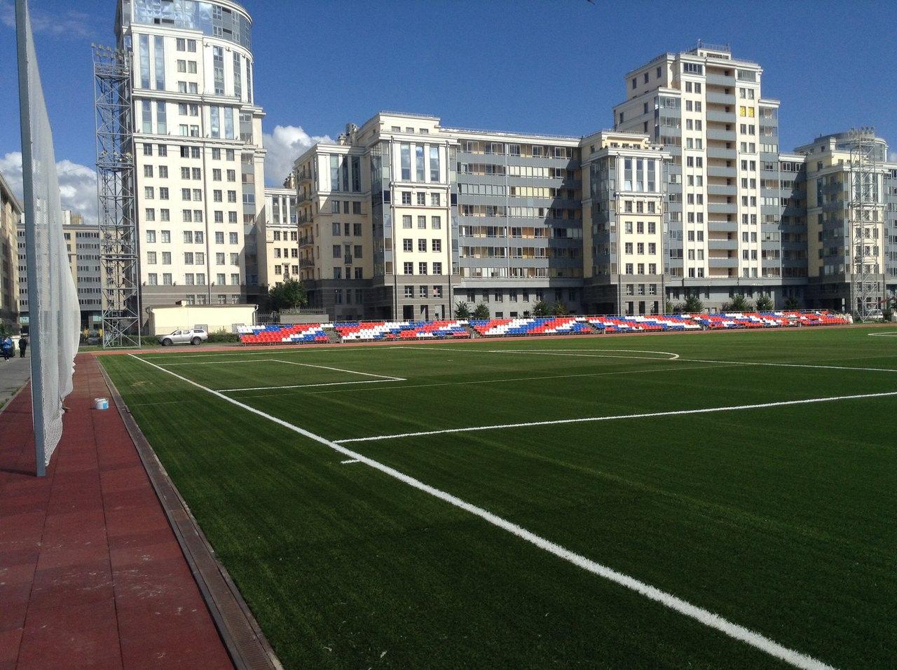 Стадион центра спорта Василеостровского района — фотография 5