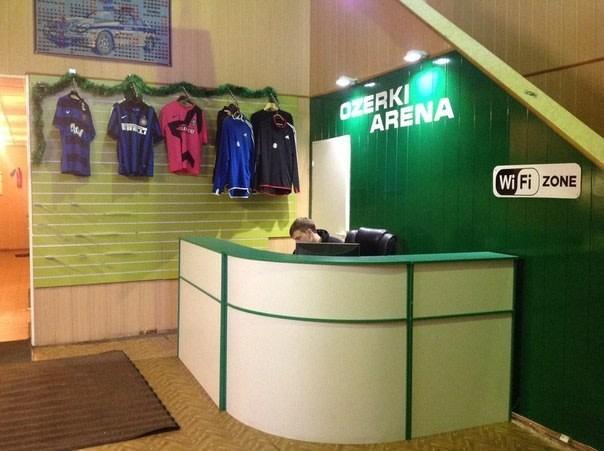 Зал Ozerki Arena — фотография 4