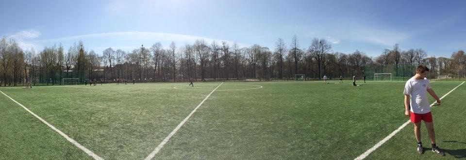 Футбольное поле в Таврическом саду — фотография 4