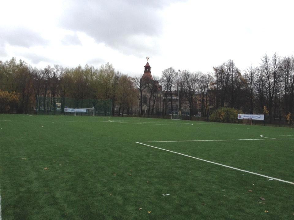 Футбольное поле в Таврическом саду - главная фотография
