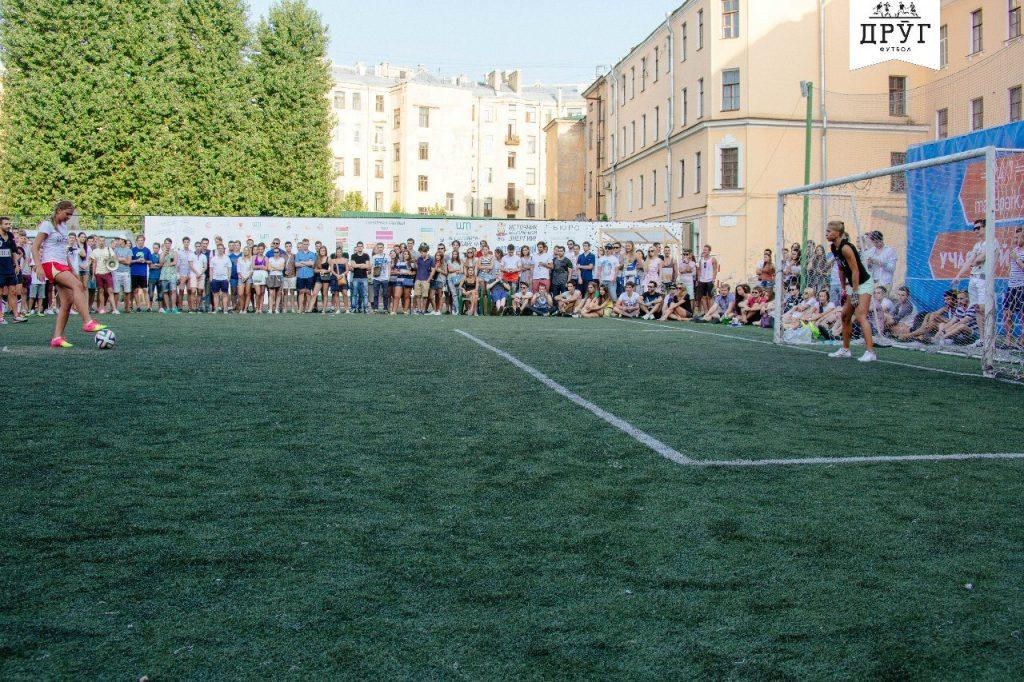 Стадион школы 163 — фотография 3