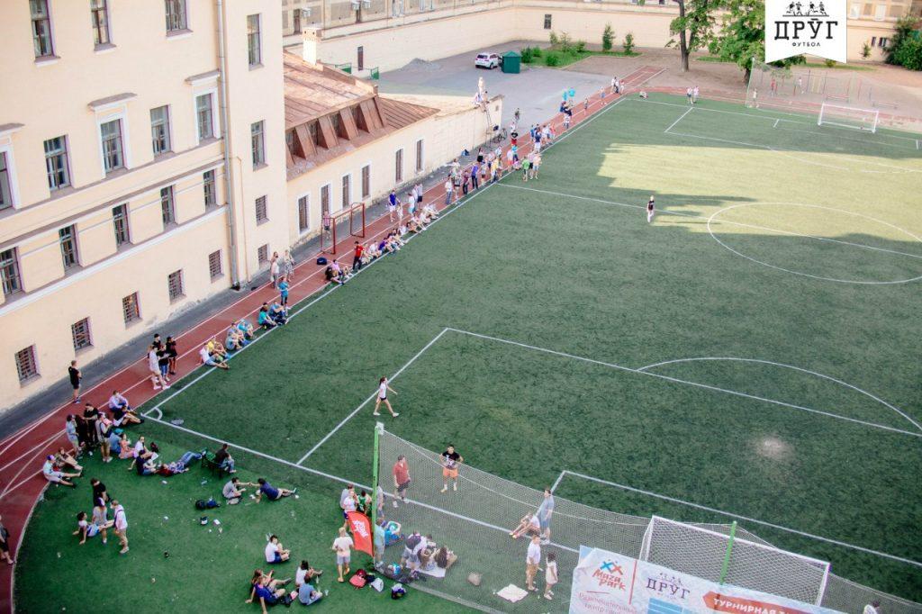 Стадион школы 163 — фотография 4