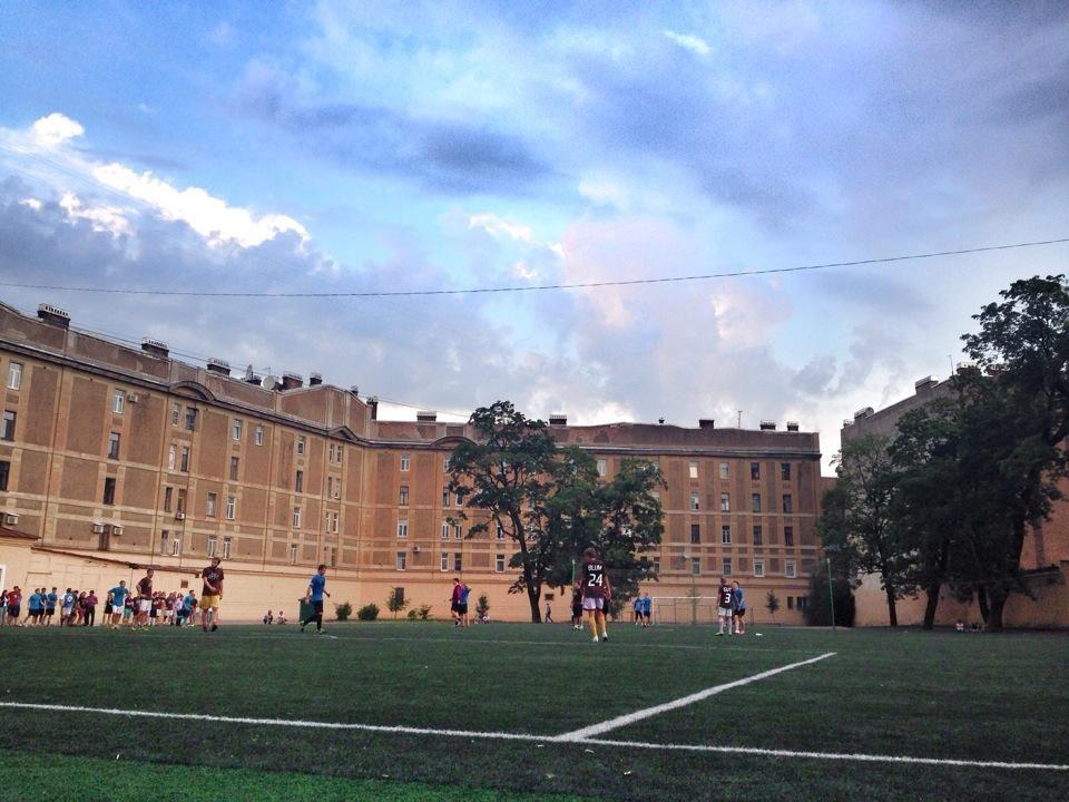 Стадион школы 163 — фотография 5