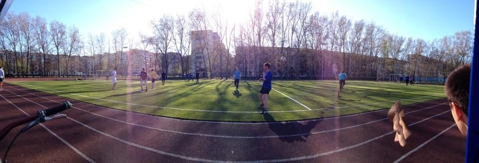 Стадион школы 383 - главная фотография