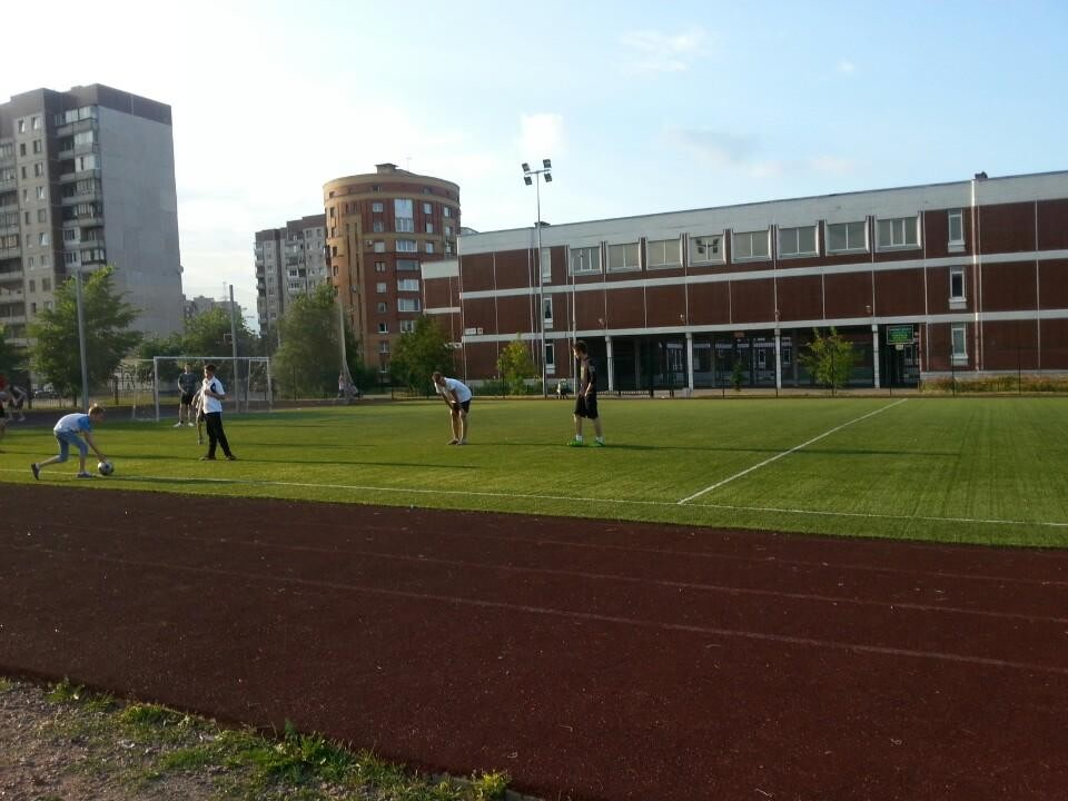 Стадион школы 644 - главная фотография