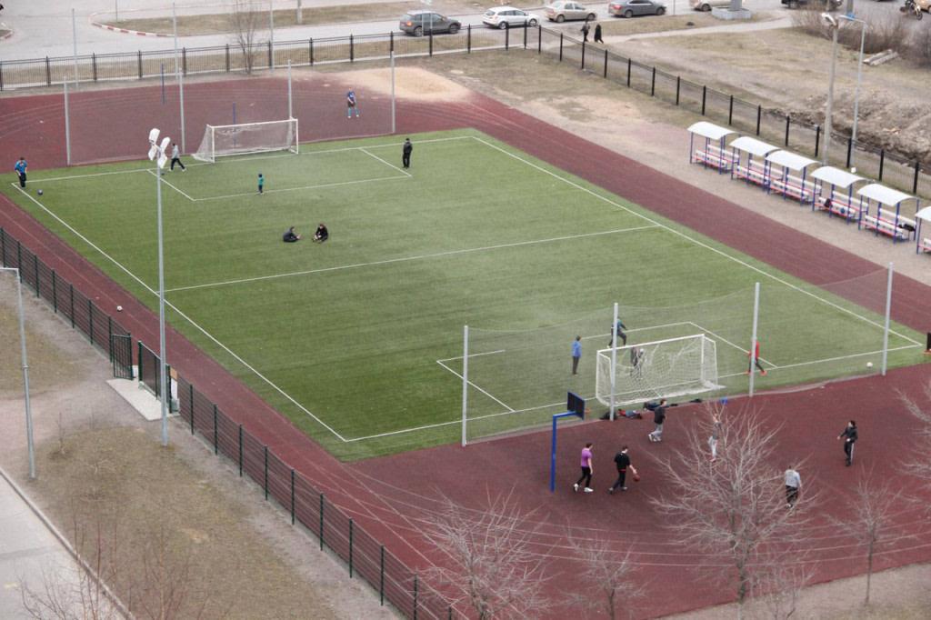Стадион школы 644 — фотография 2