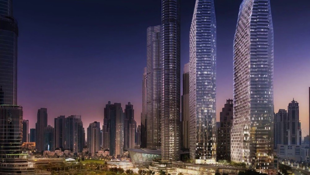 The address Residences Dubai Opera