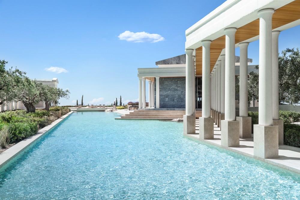 Aman Residences pool area