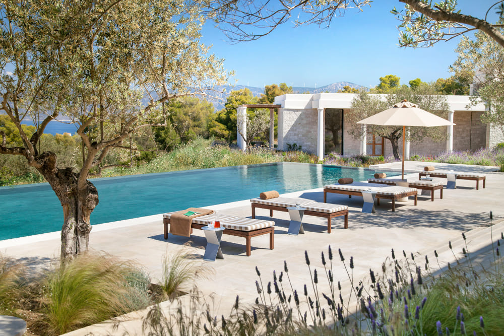 Aman Residences communal pool