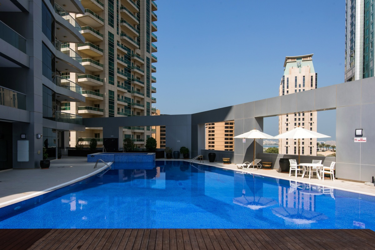 Rented   1 Bed Room  Sky View Tower Unit