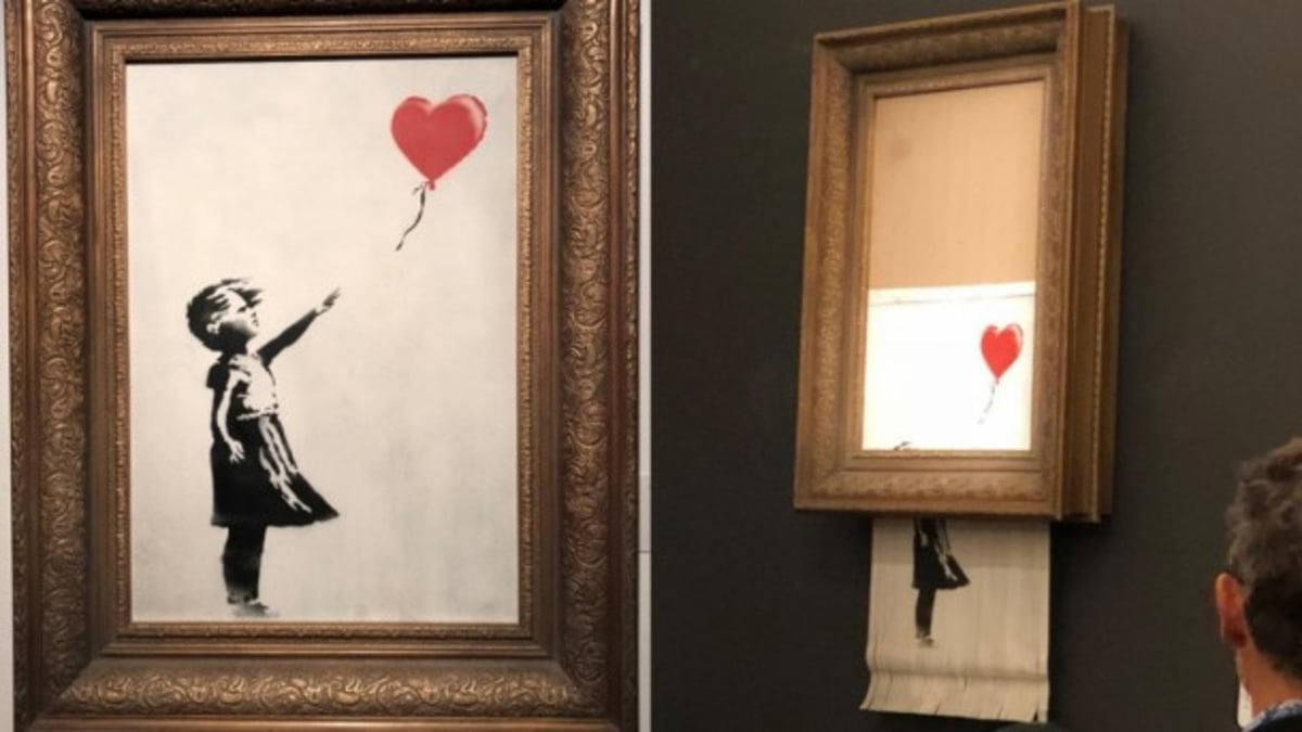 Sotheby's Gets Banksy'ed at Contemporary Art Auction in London