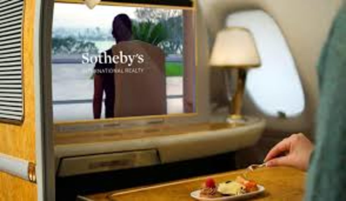 Sotheby's International Realty® Announces New Partnership with Emirates | LIVE Campaign