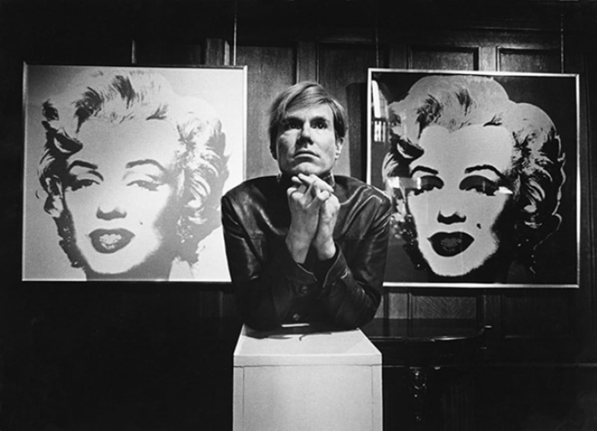 Andy Warhol's 'Marilyn Diptych', A Scene of Tragic Glamour