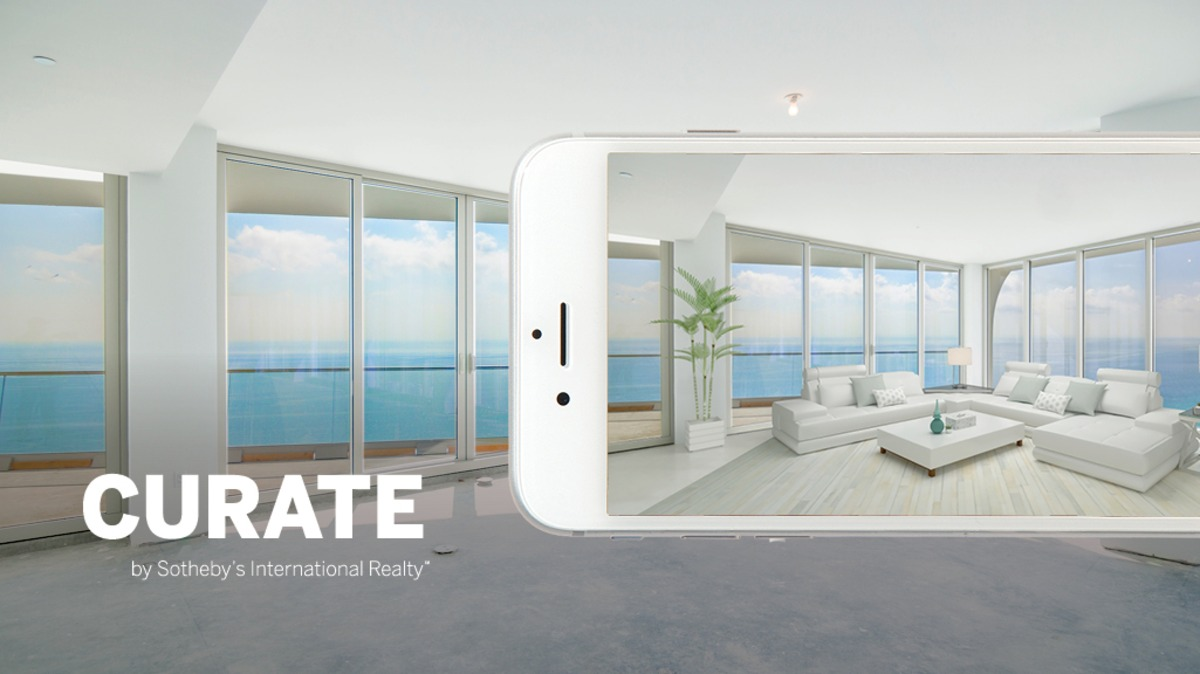 The First Real Estate-Branded Augmented Reality App | Curate by Sotheby's International Realty®