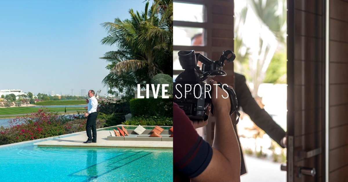 LIVE   Sports: Discover the Story of a Football Legend Trevor Stevens as He Visits a Home in Emirates Hills