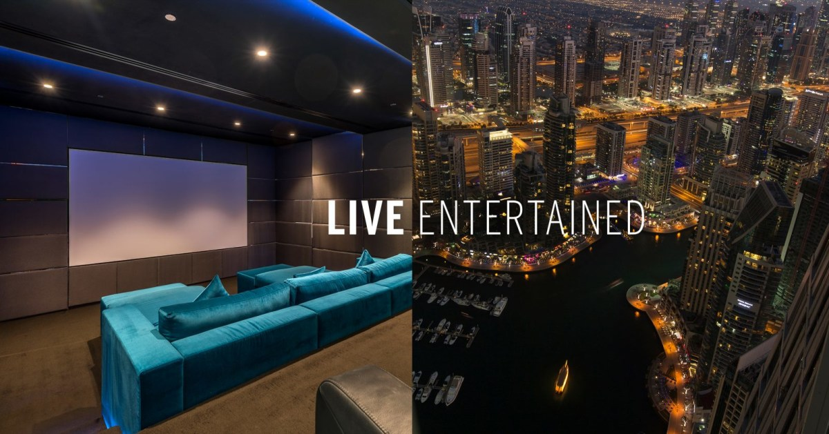 LIVE Entertained: Discover Homes with State of the Art Technology, HD Display, Booming Sound and Absolute Privacy