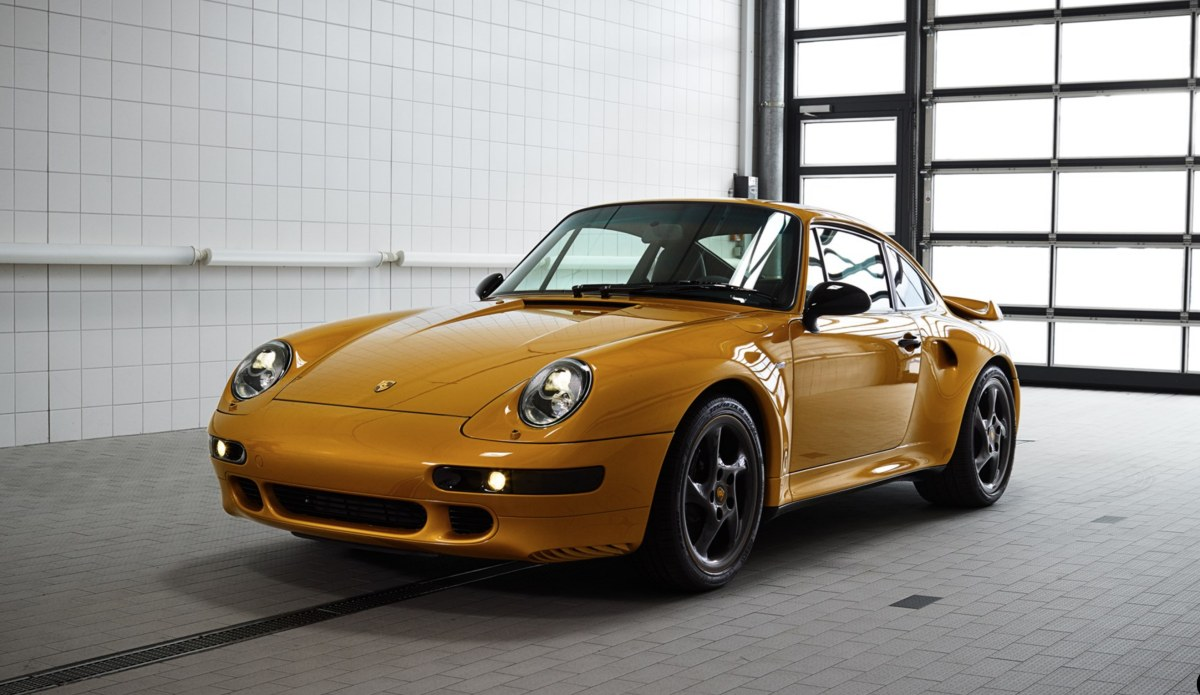 The final 993 Turbo Built Heads to Sotheby's Porsche 70th Anniversary Sale