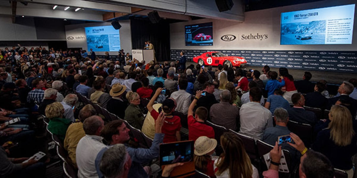The Most Valuable Car Ever Sold at Record-Setting Monterey Auction