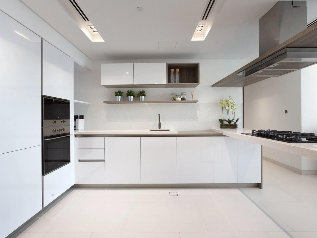 Kitchen layout at Soho Palm