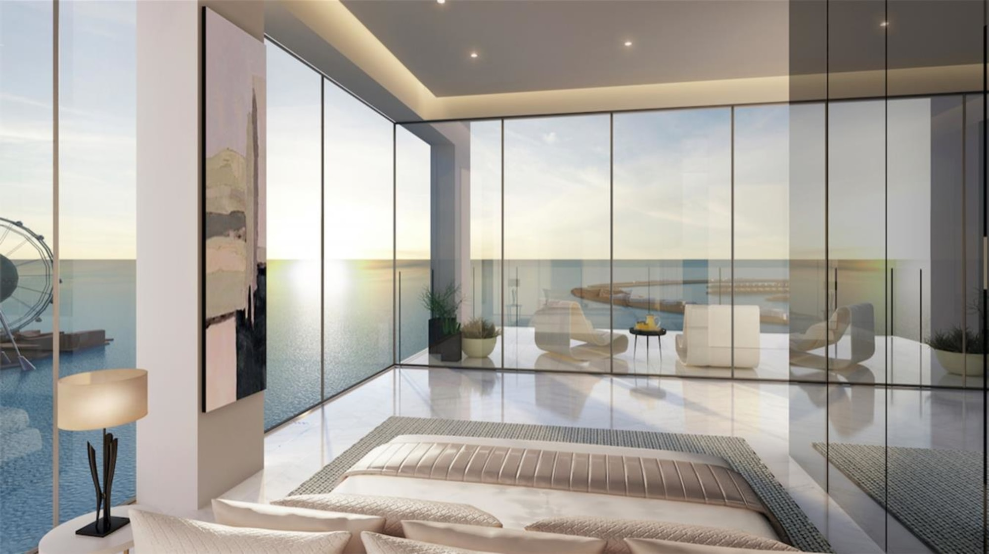 1/JBR Luxury 2 Bed Beachfront Apartment