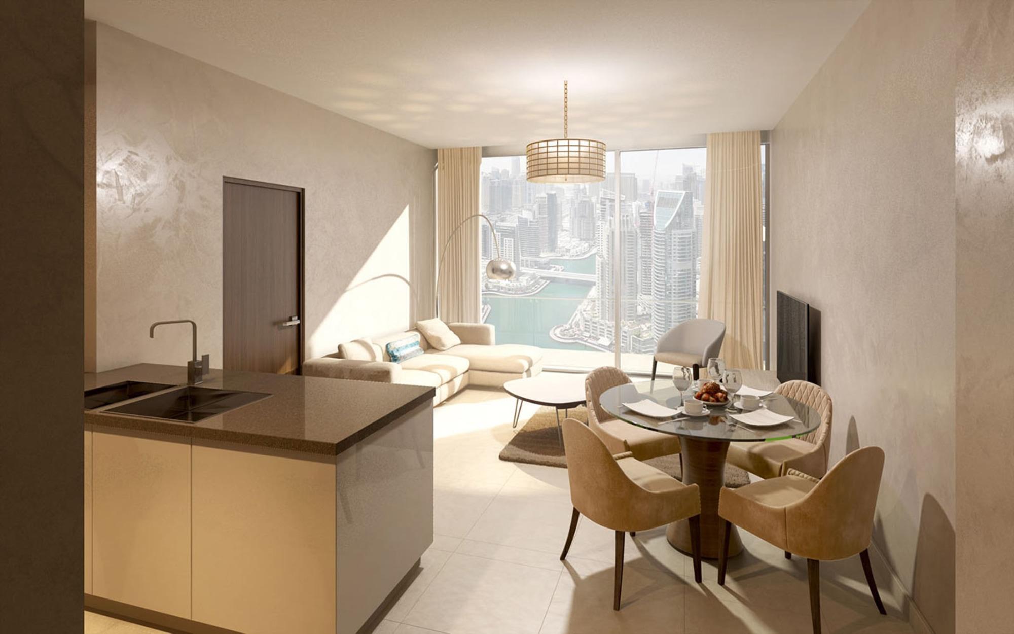 1 Bedroom Apartment Gorgeous Marina View