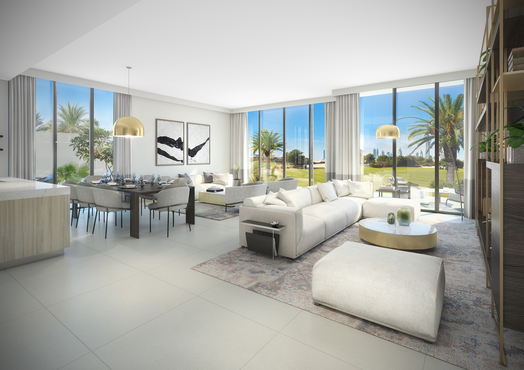 Club Villas Dubai Hills | Four Bedroom