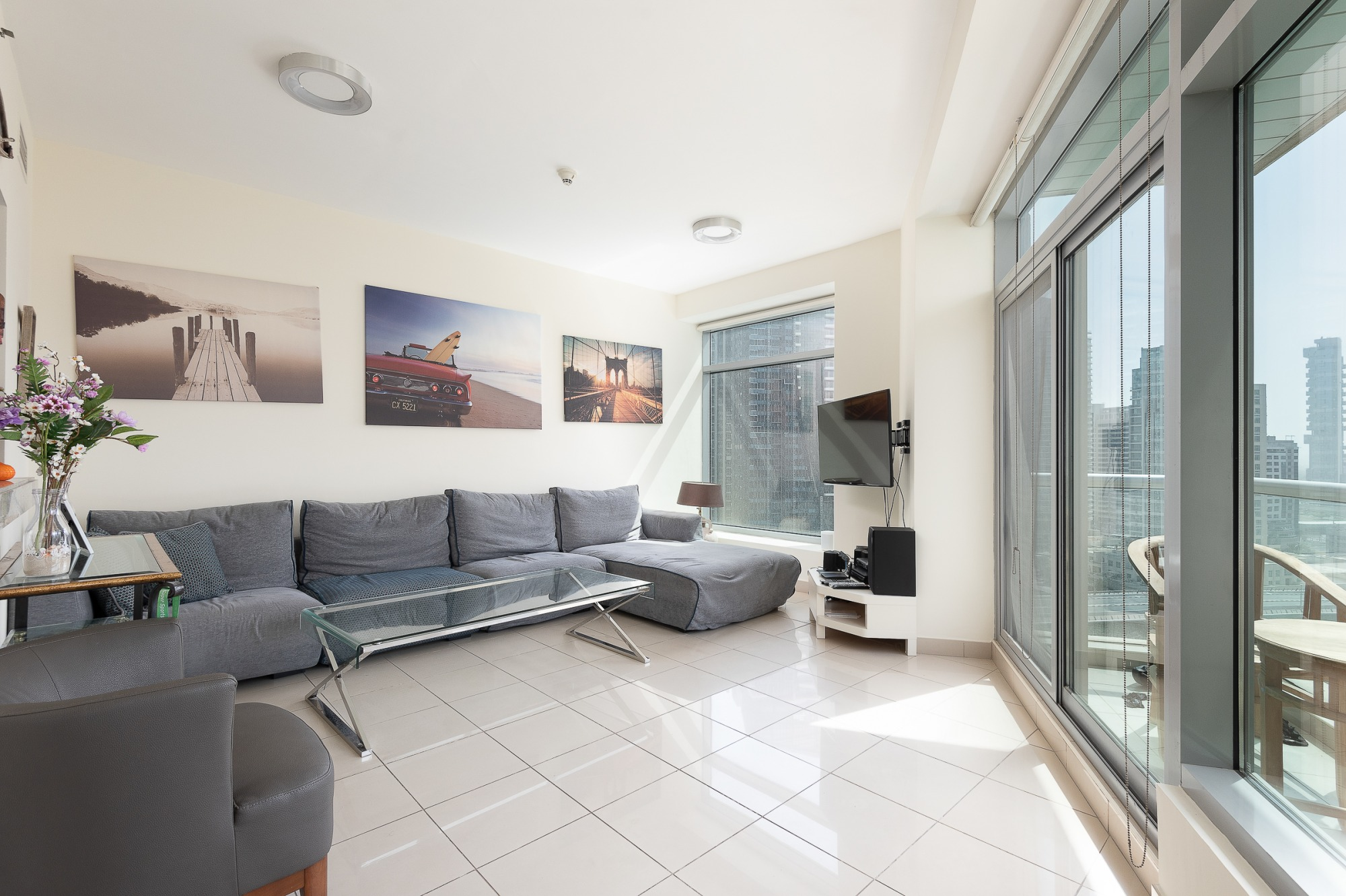 Fully Furnished | Marina View | Closed to Beach