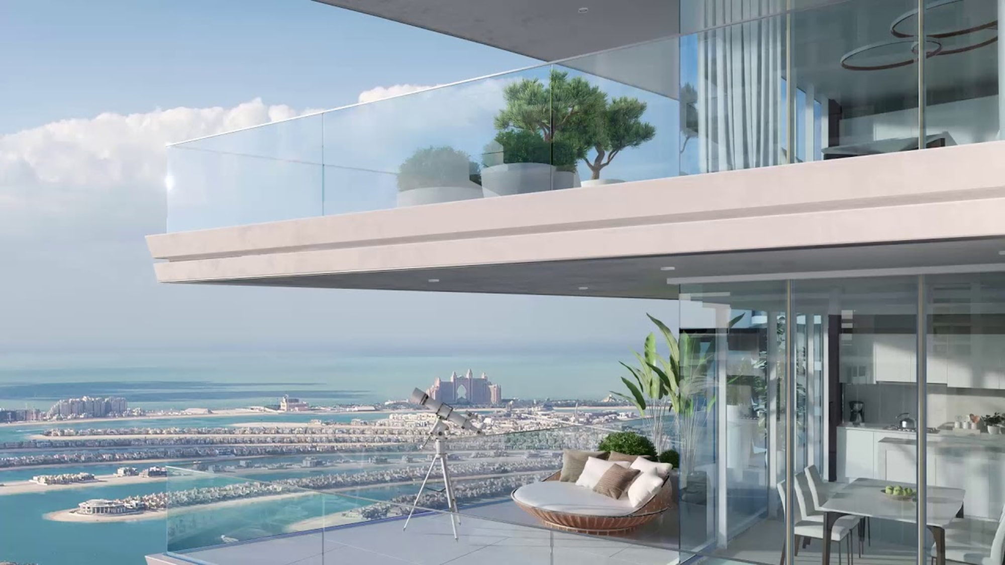 Resale 3BR   Sea & palm View   Completion 2021