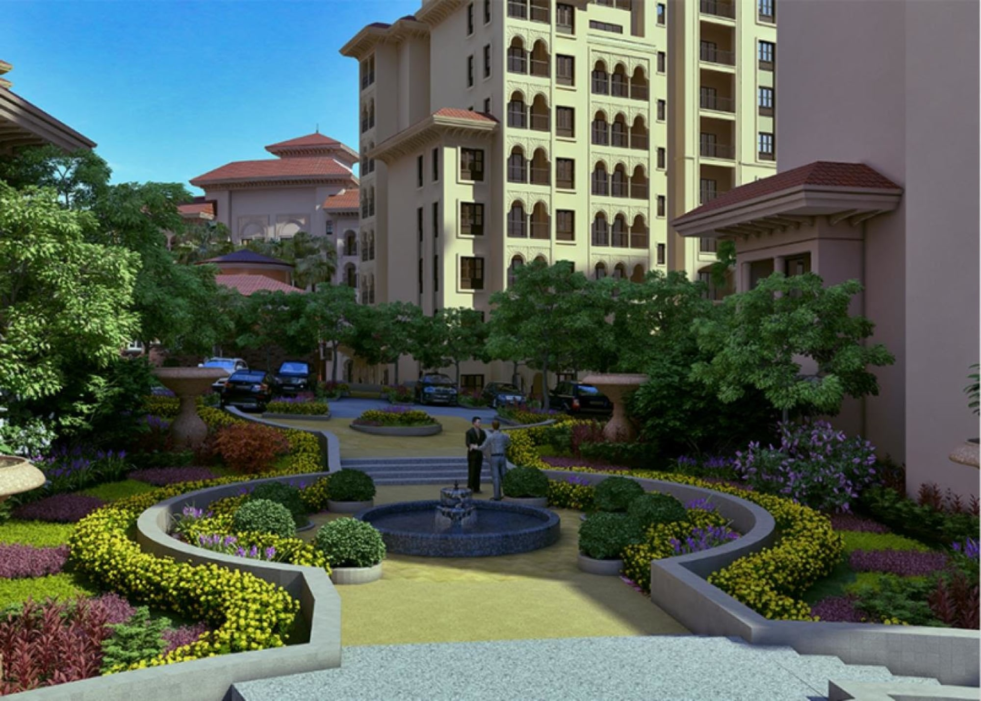AlAndalus Great location 2 BR  Brand New