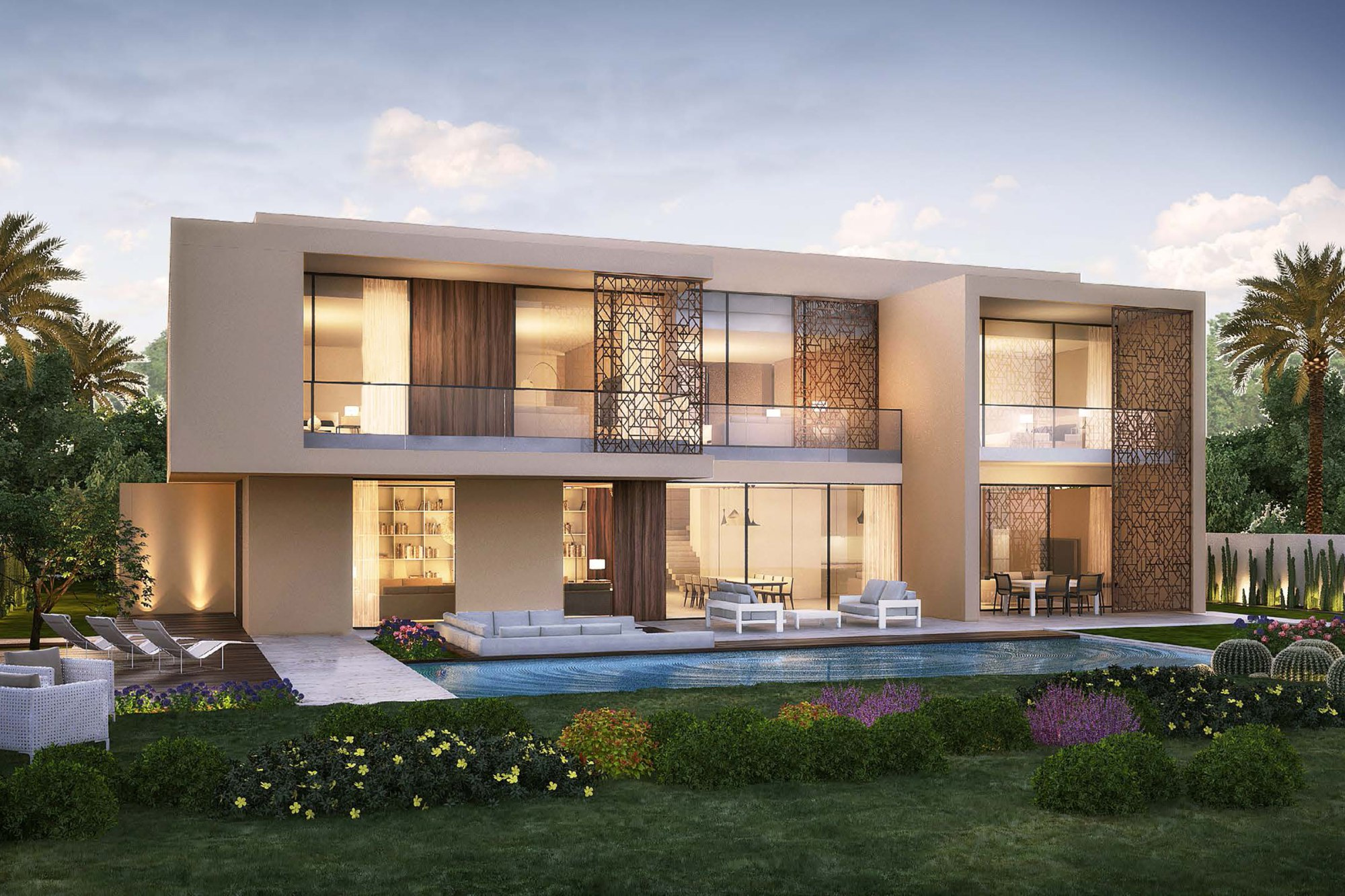 Beautiful Modern Villa|Stunning Golf Course Views