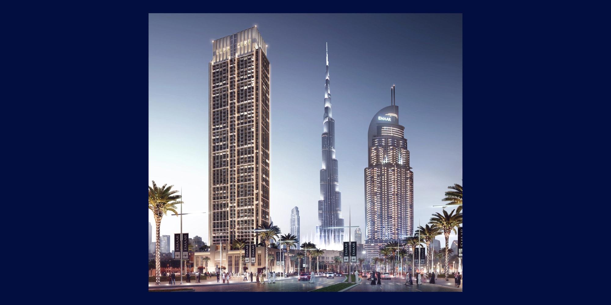 Burj & Fountain View | Flexible Payment Plan