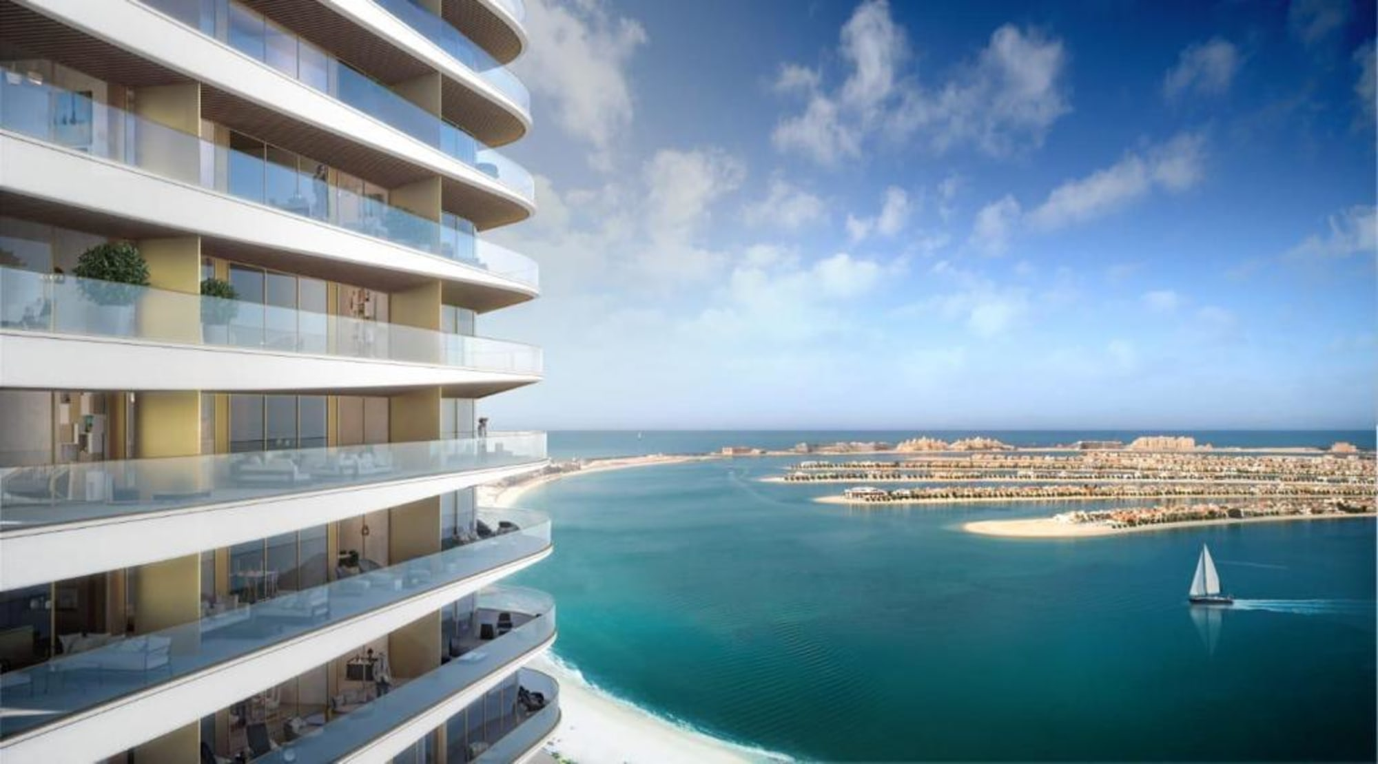 1 BED | HIGH FLOOR | SEA & PALM VIEW