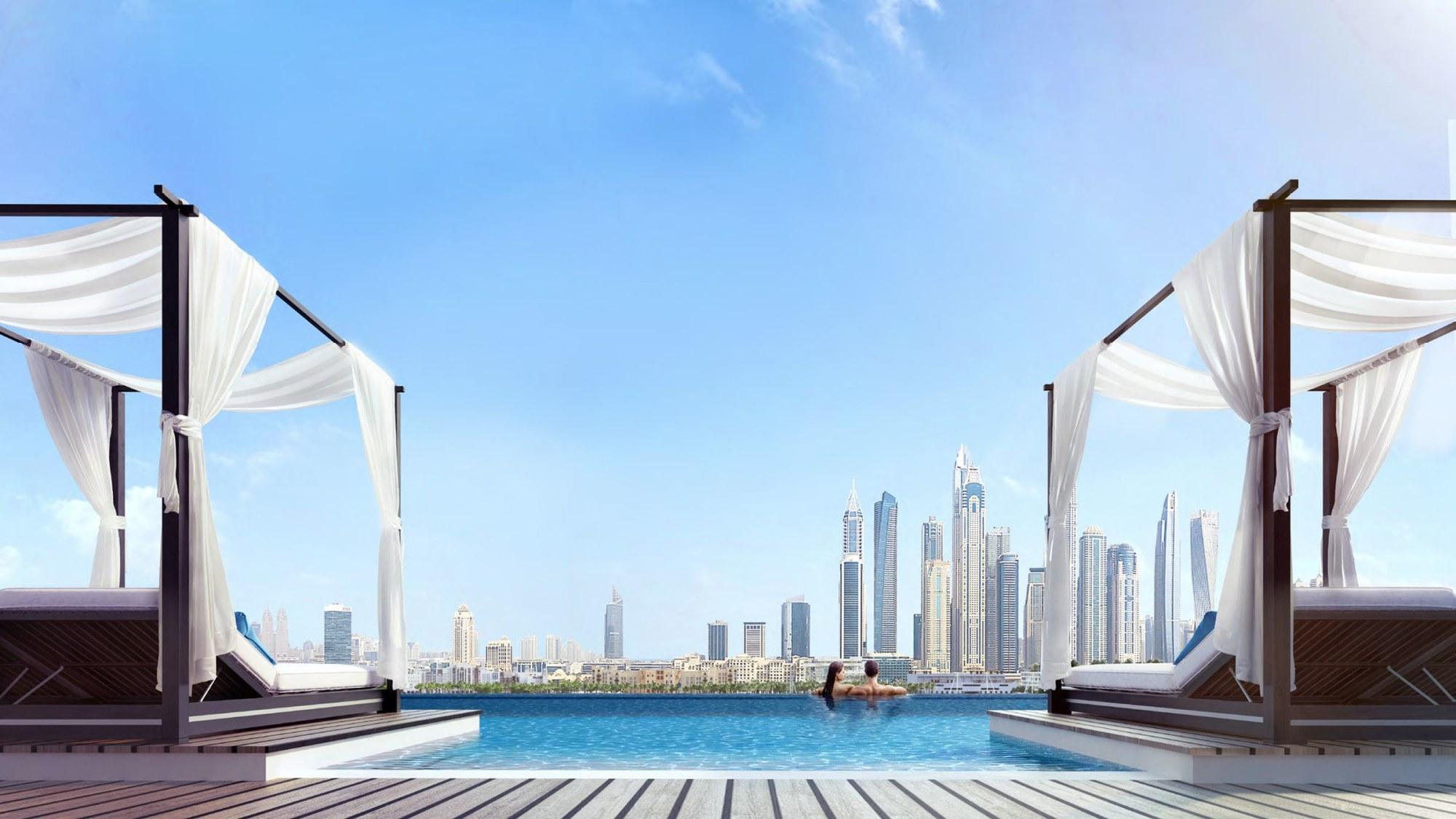 1 Bedroom | High Floor | Palm & Sea Views