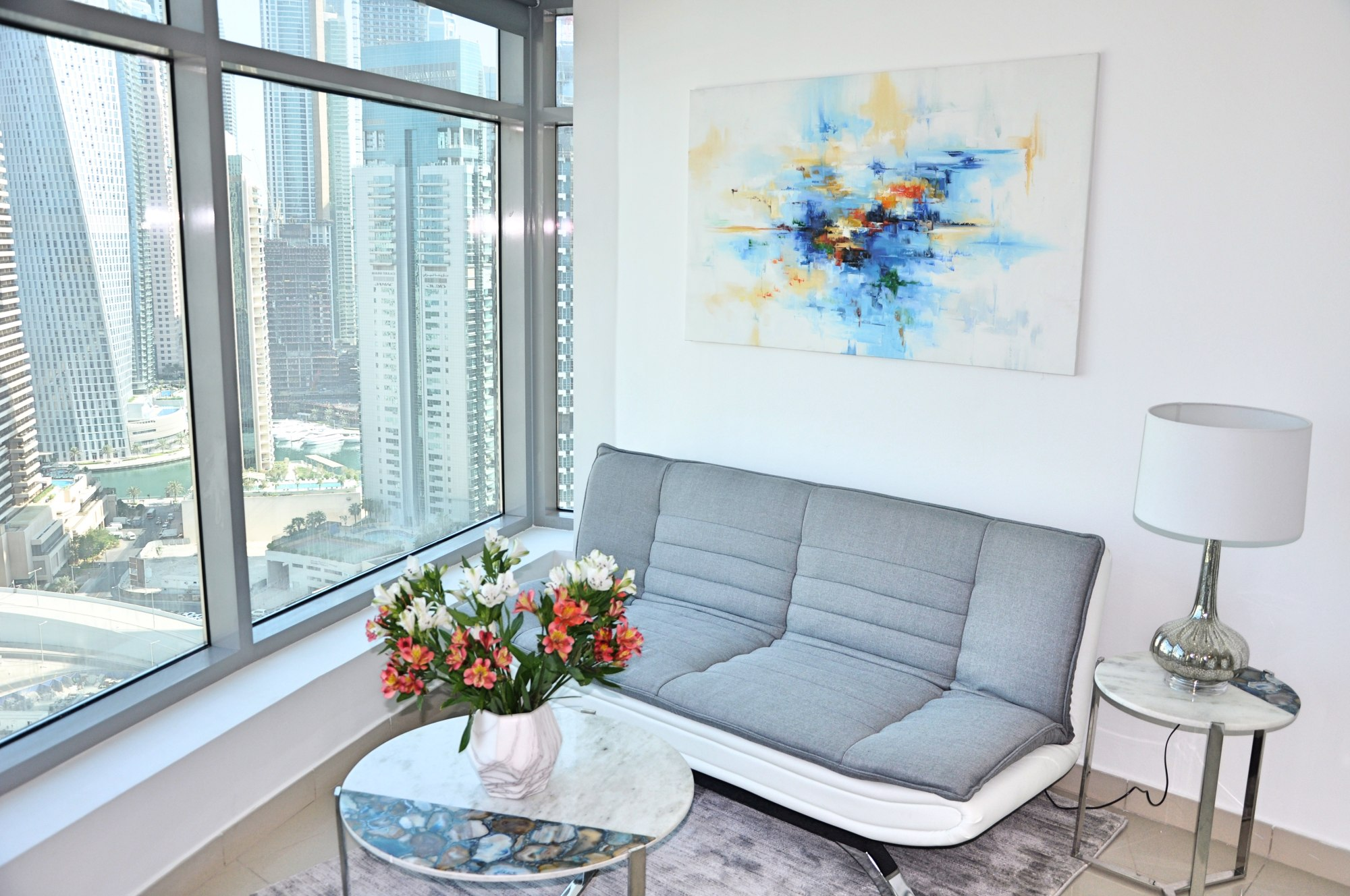 Fully Furnished | High Floor | Marina View