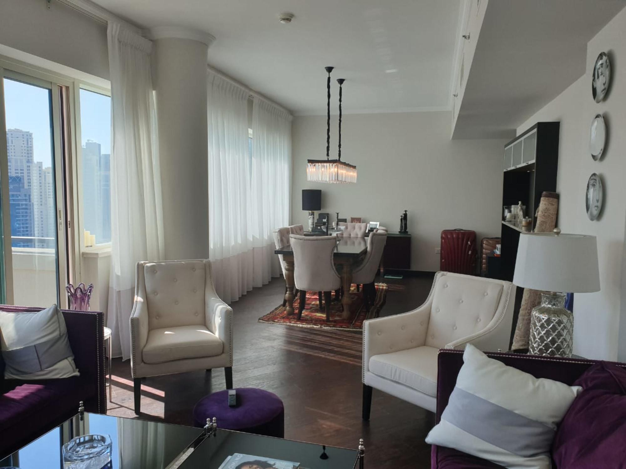 Furnished | Elegant 2 Bed | Marina View Al Majara