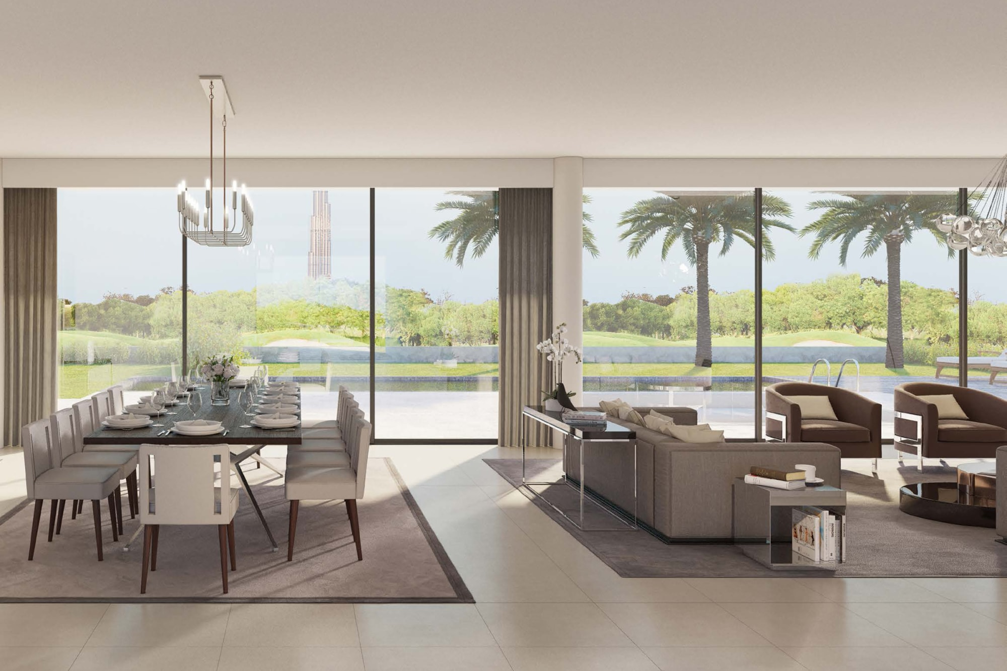 Modern|Beautiful Golf Course View|Post handover PP
