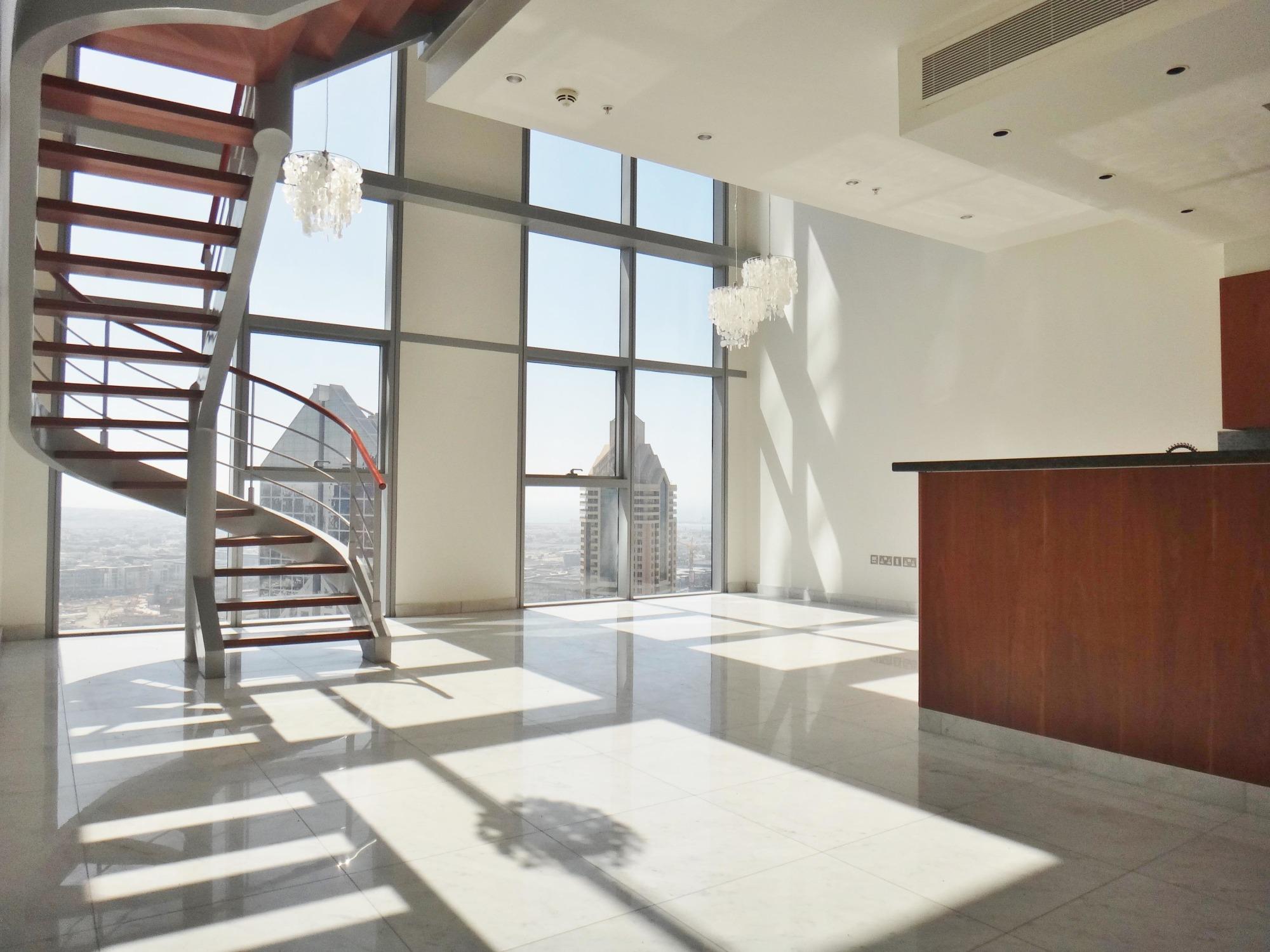 High Floor   2 BR Duplex   Large terrace