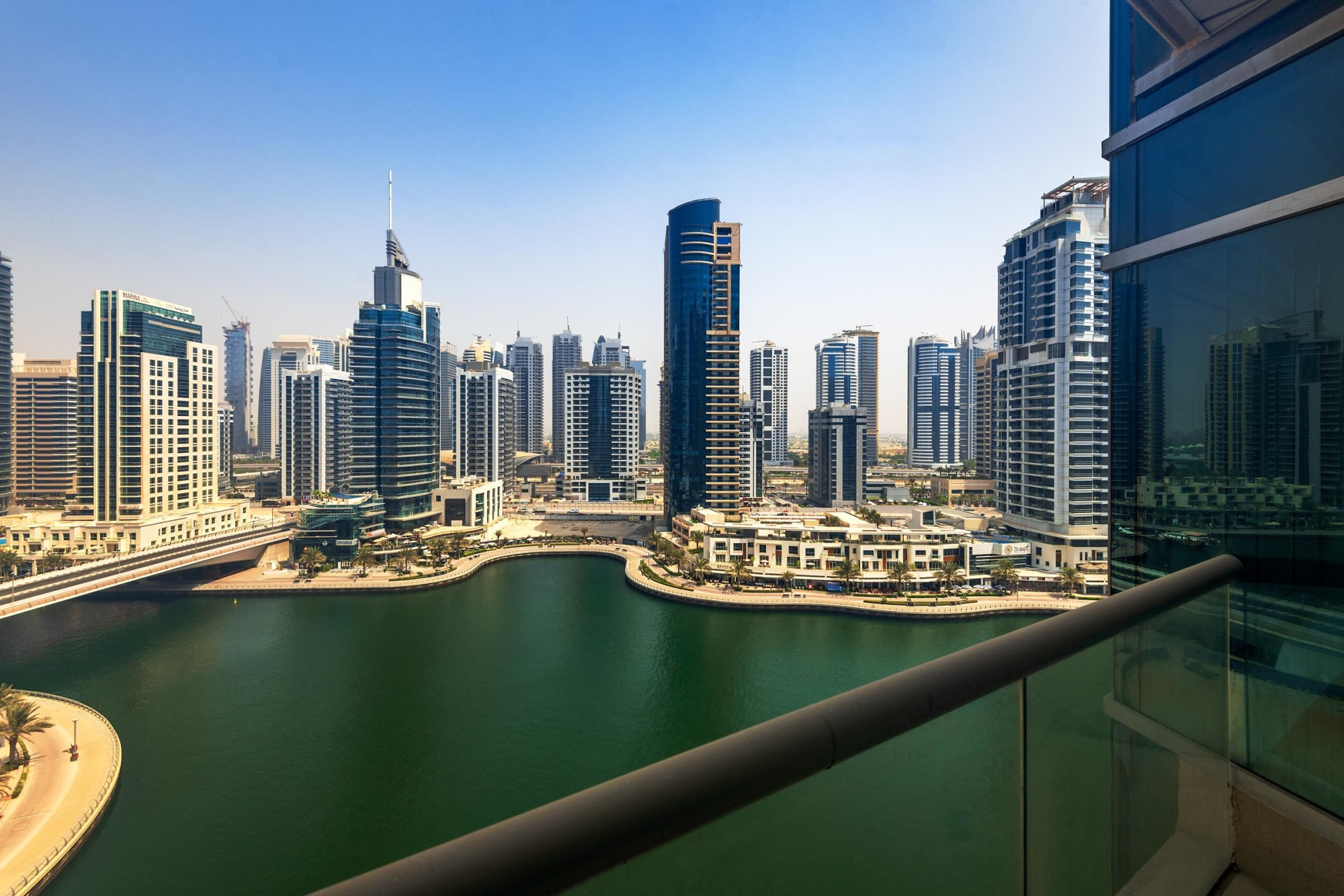 Large | Two Bedrooms | With Marina Views