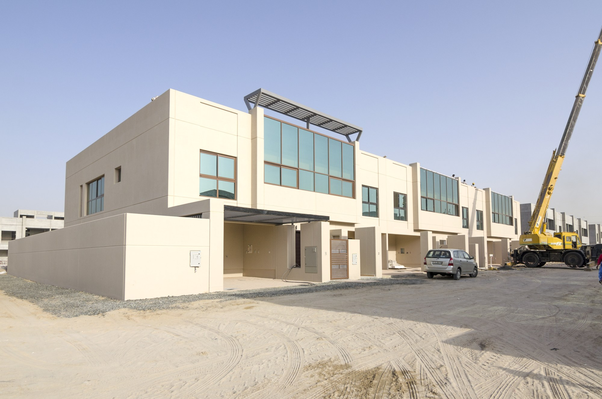 Large 4 Bedroom Row House in Meydan City
