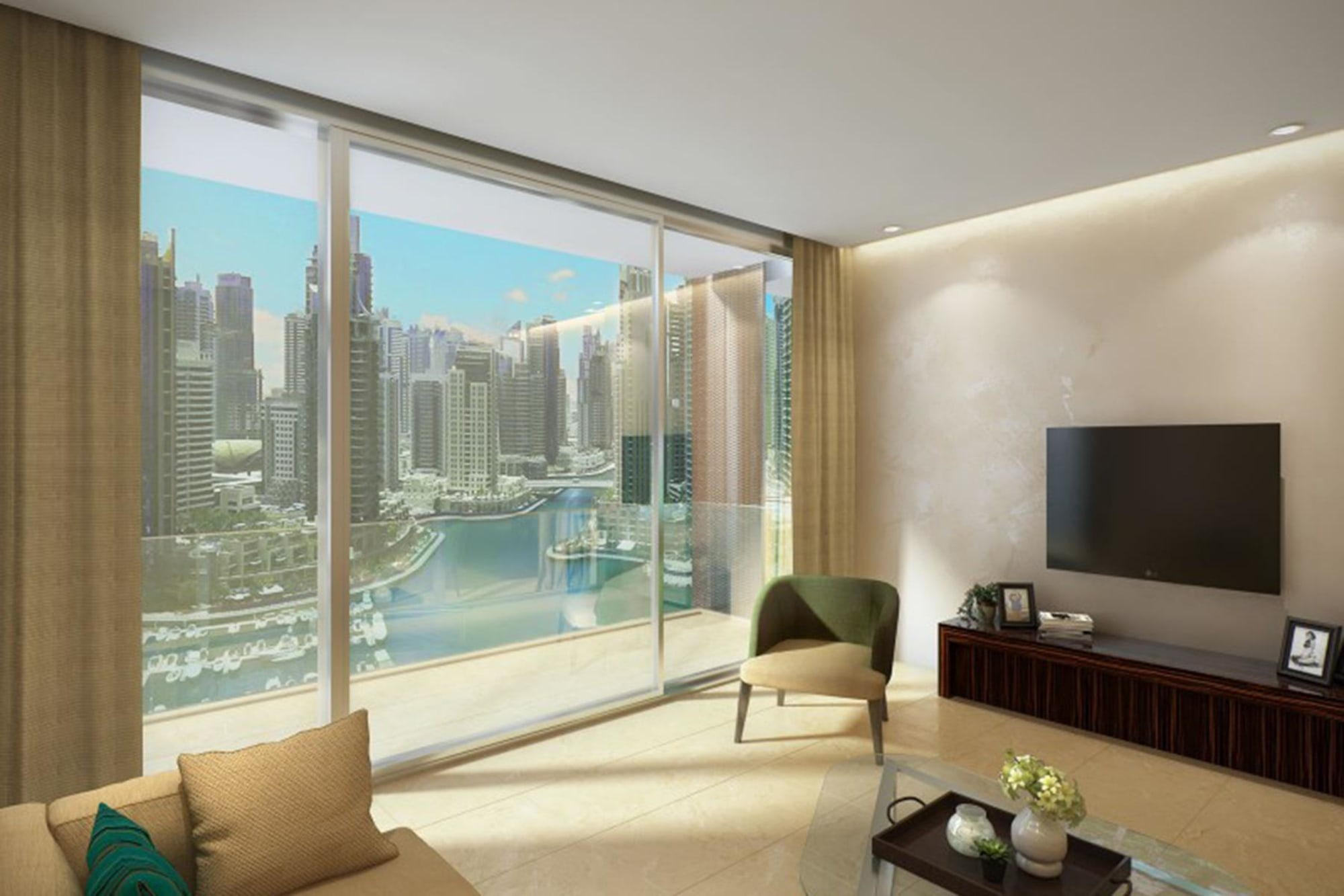 Marina Gate Duplex Penthouse, Dubai Mari