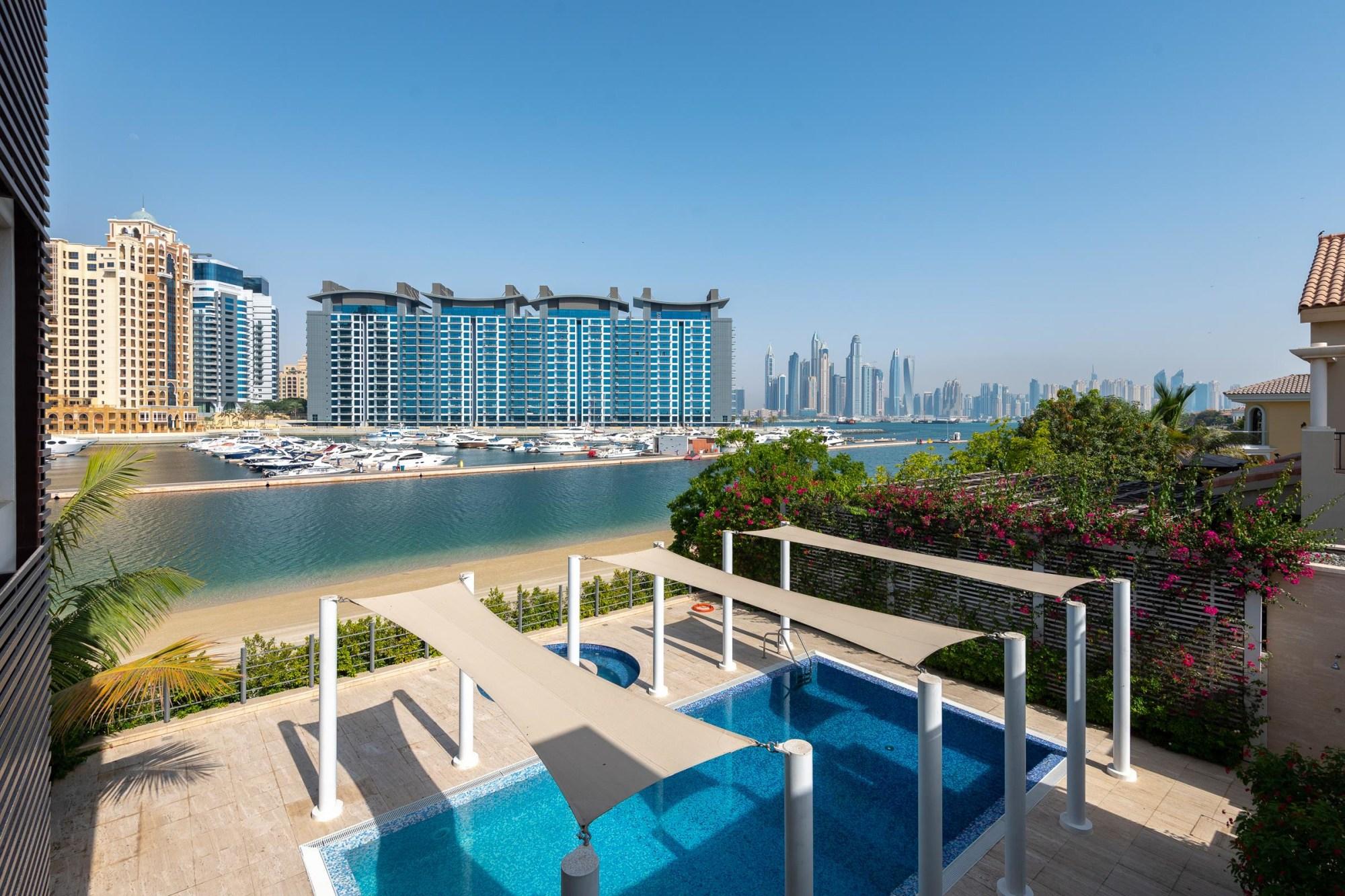 Signature Villa | with Sea|  Marina View